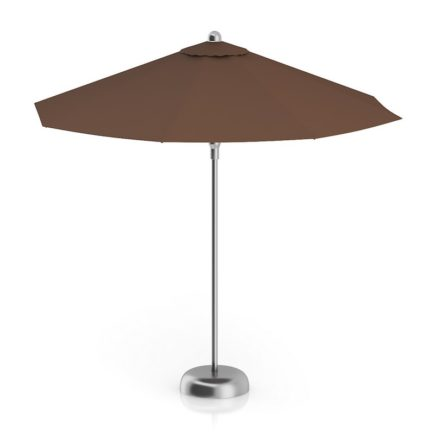 3D Round Brown Sunshade Umbrella