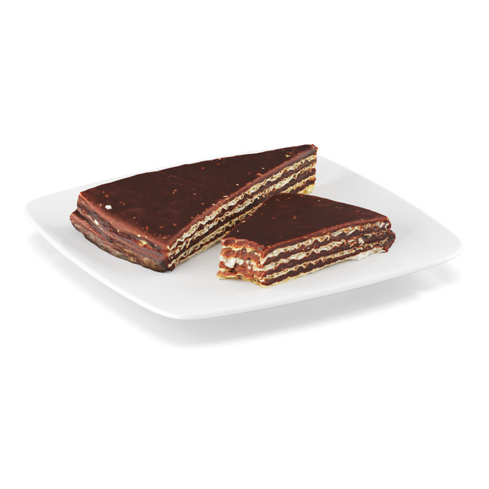 3D Chocolate wafers