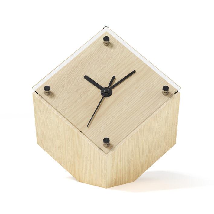 3D Cubic Clock
