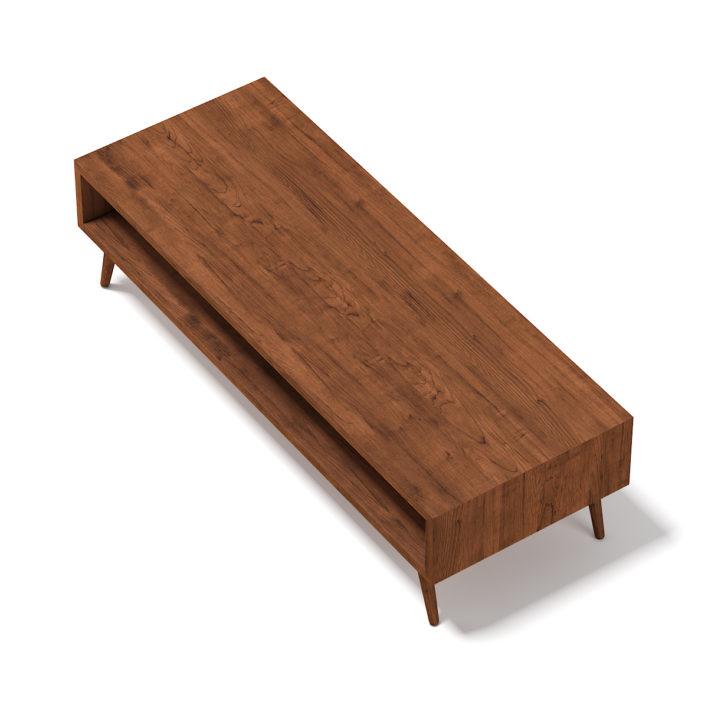 3d Rectangular Wooden Coffee Table