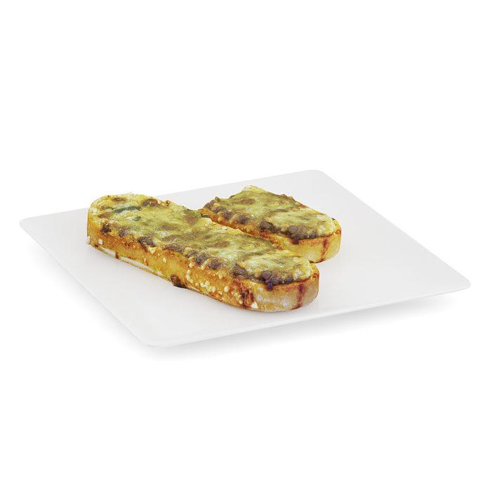 3d casserole on bread