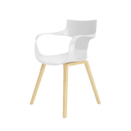 3D Office White Chair