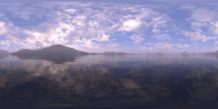 Morning Lake HDRI