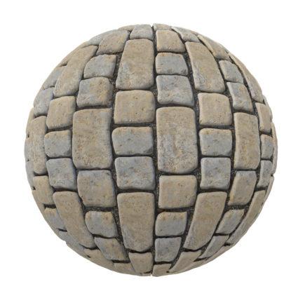 Stone Pavement Free PBR Texture