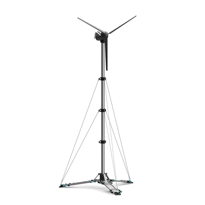 small wind turbine free 3d model