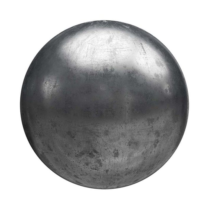 Scratched Metal Free PBR Texture