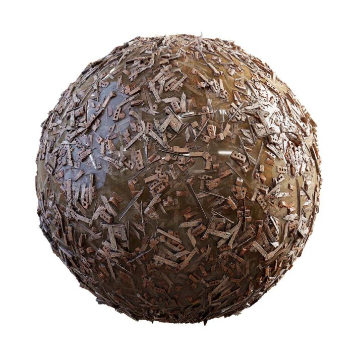 rubble free pbr texture