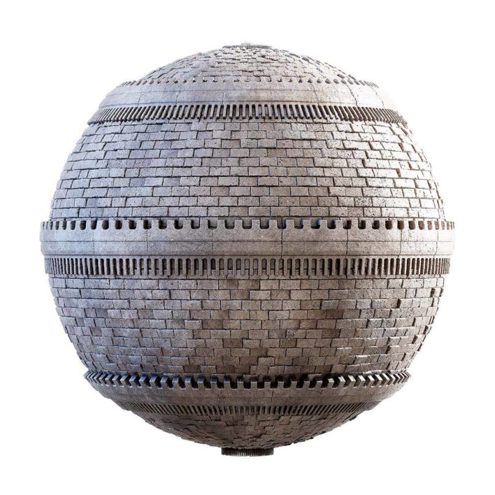 castle wall free pbr texture