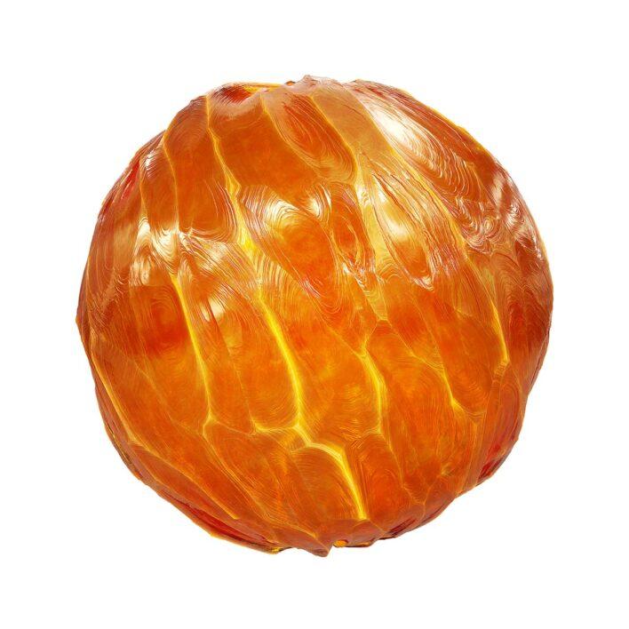 orange crystal free pbr texture