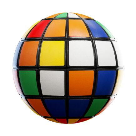 rubik's cube free pbr texture